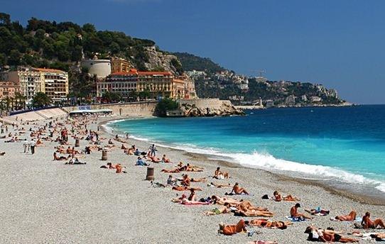 salariés en vacances à la plage