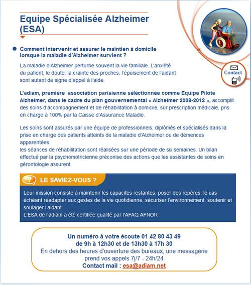 association alzheimer a paris
