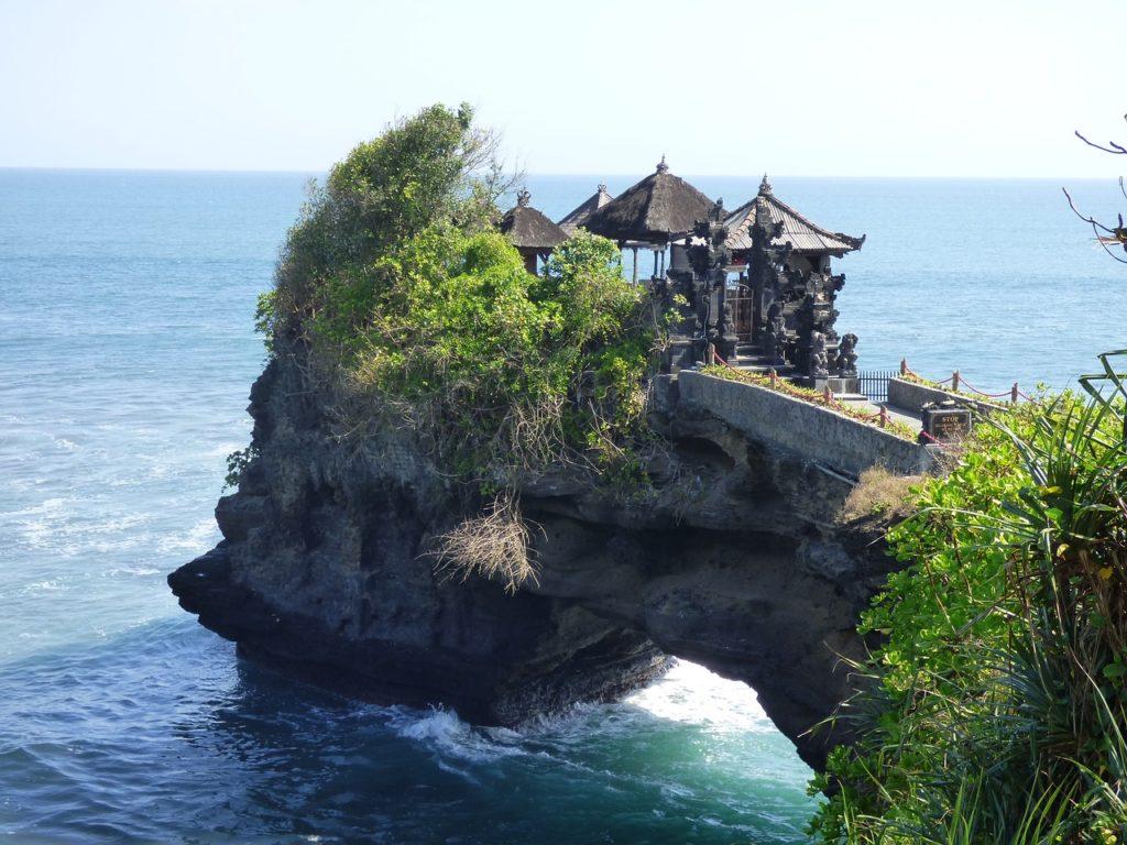 Premier voyage à Bali, temple d'Uluwatu