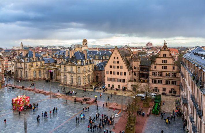 Le palais Rohan à Strasbourg